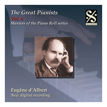 THE GREAT PIANISTS VOL.6 - EUGENE D'ALBER