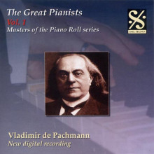 THE GREAT PIANISTS VOL.1 - V.DE PACHMANN