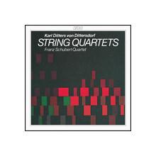 DITTERSDORF:Quartetti x archi N.1 - 3 - 4 - 5