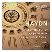 HAYDN:Sinfonie NN.8 & 84 - Violin Concerto