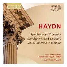 HAYDN: Sinfonie NN.7 & 83 - Violin Concert