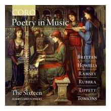 "AA.VV.: ""Poetry in Music"" - musica Sacra di autori inglesi"