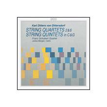 DITTERSDORF: Quartetti e quint. x archi