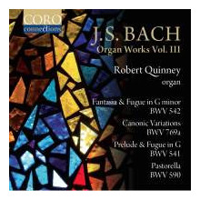 BACH: ORGAN WORKS - Vol.3