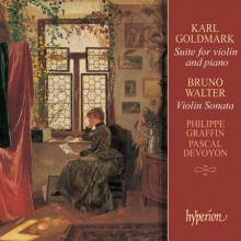 WALTER/GOLDMARK:SONATA X VIOLINO E PIANO