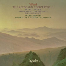 Bach:concerti X Piano E Orch. Vol.1