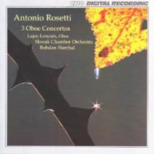Rosetti: 3 Concerti Per Oboe