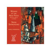 Woman at the new piano