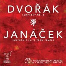 DVORAK:Sinfonia N.8 - JANACEK:Jenufa Suite