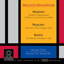 HINDEMITH - PROKOFIEV - BARTOK: Miracolous Metamorphoses