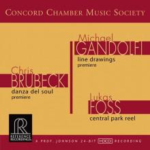 C.BRUBECK - M.GANDOLFI  - L.FOSS: Musica orchestrale