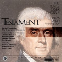 TURTLE CREEK CHORALE:'TESTAMENT'