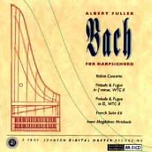 A.fuller: Bach For Harpsichord