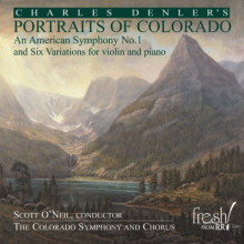 DENLER C.:Portraits of Colorado - Symphony