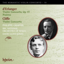Cliffe & D'enlarger:concerti Per Violino