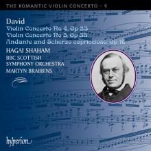 DAVID: Romantic Violin Concerto Vol.9