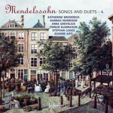 MENDELSSOHN: Canzoni e duetti - Vol.4