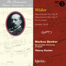 Concerti per piano Vol.55 - Widor
