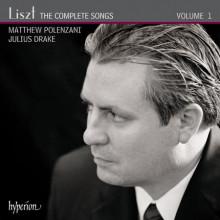LISZT: Integrale dei Lieder - Vol.1