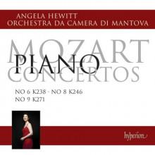 MOZART: Concerti per piano NN.6 - 8 & 9