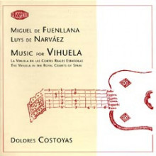 FUENLLANA/NARVAEZ: Music for Vihuela