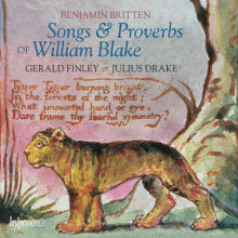 Britten: Songs & Proverbs Of W.blake
