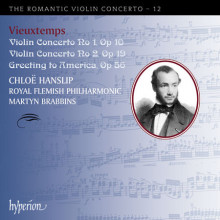 VIEUXTEMPS:Romantic Violin Concerto V.12