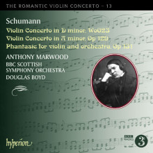 SCHUMANN:Romantic Violin Concerto Vol.13