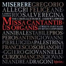 ALLEGRI: Miserere e musica romana