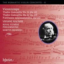 VIEUXTEMPS: Concerti per violino - RVC 8