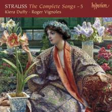 Strauss: Integrale Dei Lieder Vol.5