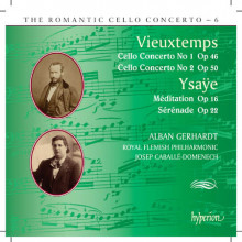 Vieuxtemps - Ysaye: Romantic Cello - Vol.6