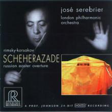 RIMSKY - KORSAKOV: Scheherazade  - Russian Easter overture (HDCD)