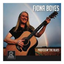 FIONA BOYES: Professin' the Blues -  -  -  -  -  -