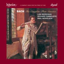 BACH: Integrale delle Sonate per flauto
