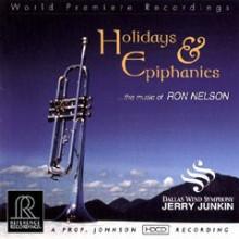 Ron Nelson: Holidays & Epiphanies (hdcd)