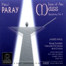 Paul Paray: Joan Of Arc Mass Sinfonia N.1