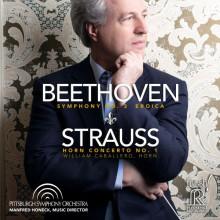 "BEETHOVEN: Sinfonia N.3 ""Eroica"" - STRAUSS: Concerto per corno N.1"