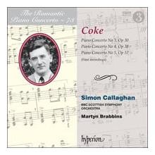 COKE R..: Romantic Piano Concerto - Vol.73