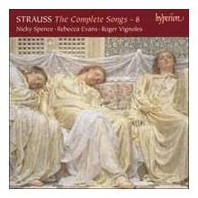 STRAUSS: Integrale dei Lieder Vol.8