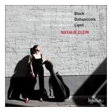 BLOCH - DALLAPICCOLA - LIGETI: Cello Music
