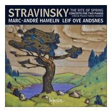 STRAVINSKY:  opere per piano a 4 mani
