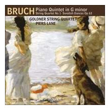 BRUCH: Piano Quintet - String Quartet