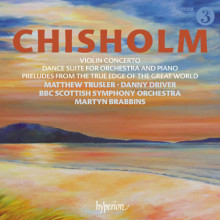 CHISHOLM: Violin Concerto & Dance Suite