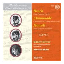 HOWELL - BEACH:  Piano Concerto Vol.70