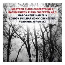 MEDTNER - RACHMANONOV: Concerti per piano