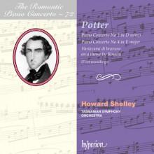 CIPRIANI POTTER: Piano Concertos - Vol.72