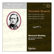 STERNDALE BENNET: Piano Concertos NN.1 - 3