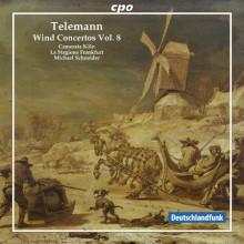 TELEMANN: Concerti per fiati Vol.8