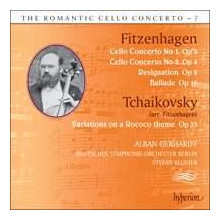 FITZENHAGEN: Romantic cello - Vol.7